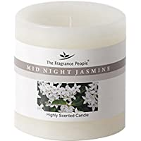 The Fragrance People Midnight Jasmine Wax Candle (7.62 Cm X 7.62 Cm X 7.62 Cm, Off-White)