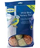 Wild Bird Bird Variety Pack includes Peanuts, Seed and Fat Balls