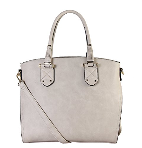 rimen-co-womens-synthetic-leather-top-zipper-closure-tote-handbag-gs-3223-taupe