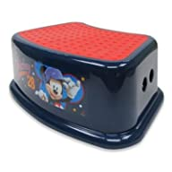 Ginsey Disney� Mickey Mouse Step Stool