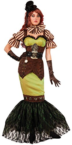 Forum Novelties Women's Steampunk Fairytales Siren Costume