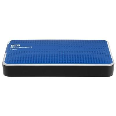 WD My Passport Ultra 2TB Portable External USB 3.0 Hard Drive with Auto Backup - Blue