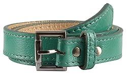 Garvan Women's Green Leather Belt (LBW 15-Green)