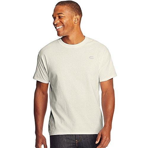 Champion Cotton Jersey Men's T Shirt_Chalk White_S