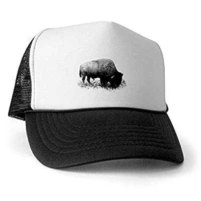 CafePress - Buffalo Trucker Hat - Trucker Hat, Classic Baseball Hat, Unique Trucker Cap