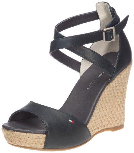 Tommy Hilfiger Women's Capri 1 Core Navy Ankle Wrap Espadrilles Fw56813727 6.5 UK