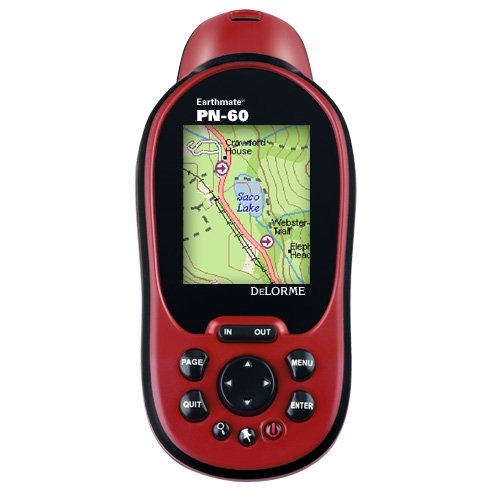 DeLorme Earthmate PN-60 Portable GPS Navigator