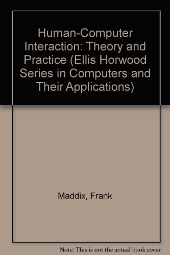 Human-Computer Interaction: Theory and Practice
