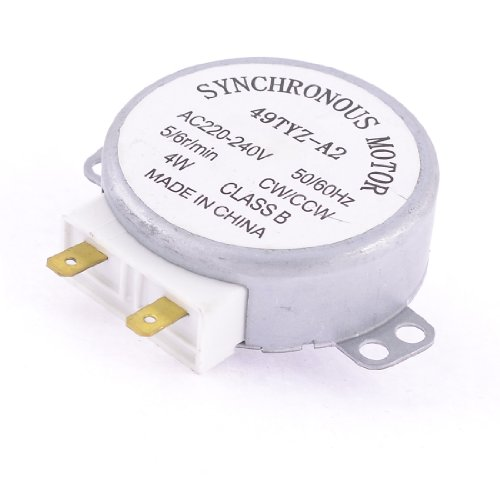 House Microwave Oven Turntable Synchronous Motor Cw/Ccw 4W 5