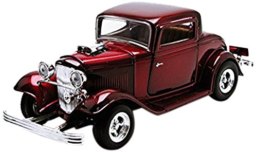1932 Ford Coupe Black 1:24 Diecast Model Car Motormax (color may vary) diecast car model (Classic Cars Models compare prices)