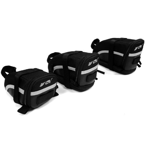 Why Choose BV Bicycle Strap-On Saddle Bag / Seat Bag
