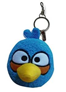 Angry Birds Key Chain, Blue