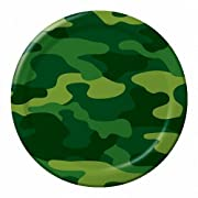 Camouflage 7-inch Paper Plates 8 Per Pack