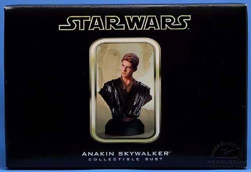 ANAKIN SKYWALKER Attack of the Clones STARWARS LIMITED & NUMBERED EDITION STATUE BUST by Gentle Giant