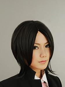 The Nana Sebastian 35Cm Carved Black Short Hair Cosplay Wig