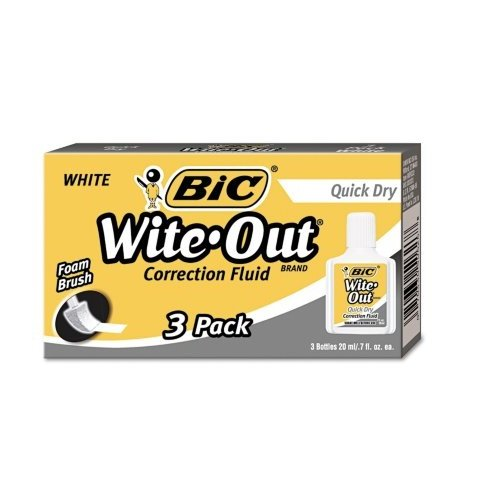 3-x-bic-wite-out-quick-dry-correction-fluid-3-pack-bicwofqd324