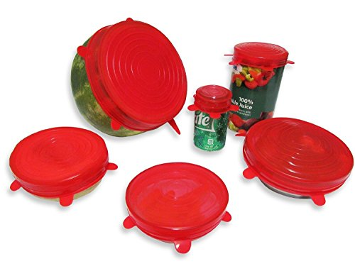 Deal-of-the-Day-Premium-Silicone-Stretch-Lids-For-Bowls-6-Pack-Stretchable-and-Reusable