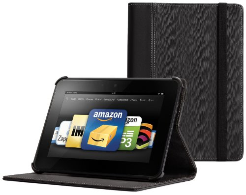 Marware Vibe Case with Stand for Kindle Fire HD, Black (will only fit Kindle Fire HD)