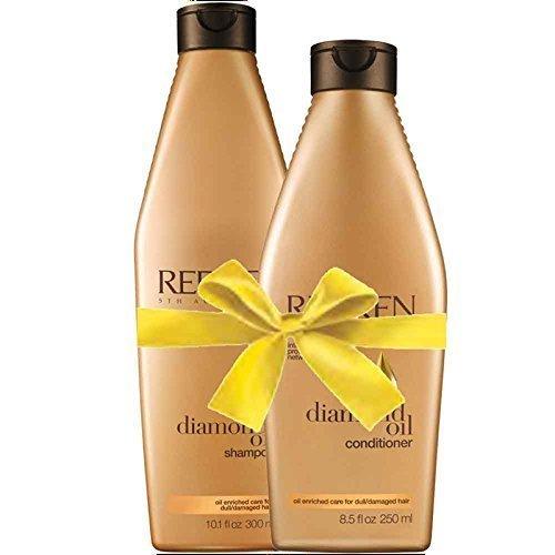 Redken set shampoo & balsamo olio di diamante<p>Olio di diamante shampoo 300 ml + diamante condizionatore d'olio 250 ml</p>