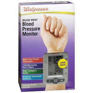 Cheap Walgreens Wrist Automatic Deluxe Blood Pressure Monitor, 1 ea (B005RCEJLC)