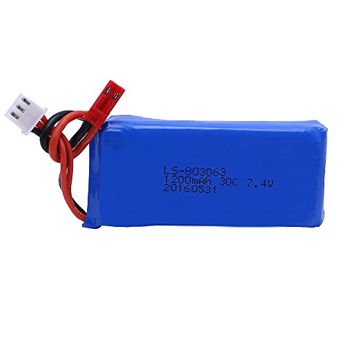 Generic Lipo Battery 7.4 V 1200mAh 30C For MXJ X101 WLtoys V666 V353B UDI U829X RC Helicopter Quadcopter Spare Parts (Ls Model Helicopter compare prices)