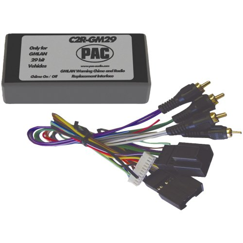 pac-c2r-gm29-radio-replacement-interface-29-bit-interface-for-2007-gmr-vehicles-with-no-onstarr
