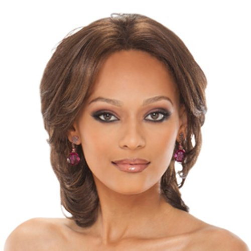 Beverly Johnson Lace Front Synthetic Wig - Loretta - Color#4 - Light Brown