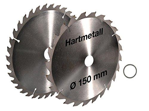 2-tlg-Set-Kreissgeblatt-150-x-20-mm-24-Z-36-Z