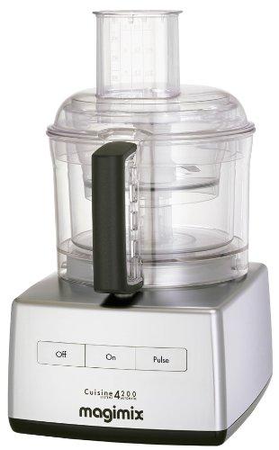 Magimix 18428 4200 Food Processor, Satin