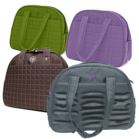 Amazon Com Gaiam Metro Gym Bag Purple Yoga Mat Bags