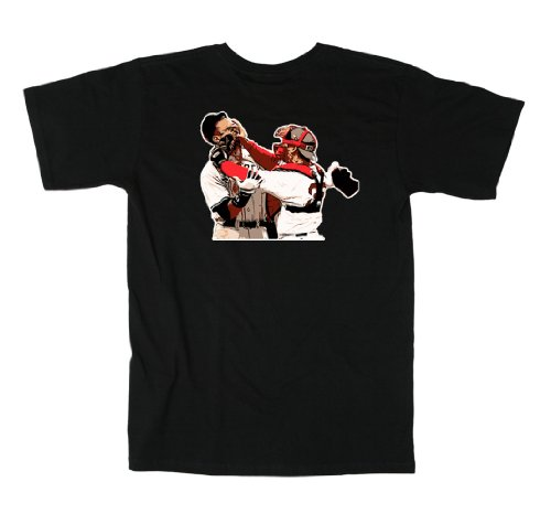 "Jason Varitek Boston Red Sox ""AROD FIGHT"" T-shirt LARGE at Amazon.com"