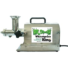 Dr Squeeze Wheatgrass King Commercial Stainless Steel Juicer