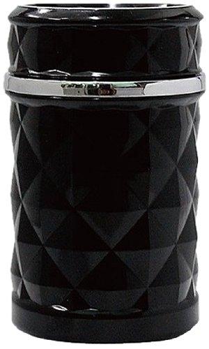 車載用 灰皿(アッシュトレイ) ダイヤタイプ ブラック【MADMAX】(トラック用品/トラックパーツ) MM60-0042B
