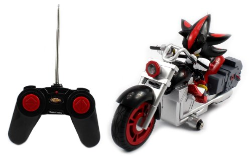 All-Stars Racing Shadow the Hedgehog Electric RC Motorcycle RTR