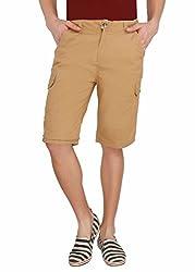 LD Active LTF658 Men's Regular Fit Poly Cotton Reversable - KHAKI