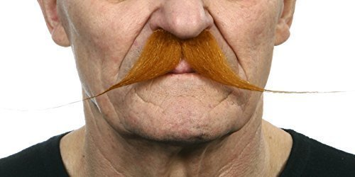 Tightrope ginger moustaches 2pcs.