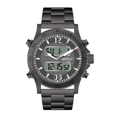 Digital clock Caravelle New York Men's Sport Supply trendy 45B136 code