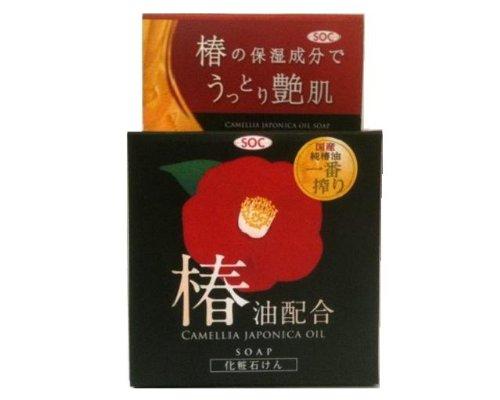 SOC 椿油洗顔石鹸 80g