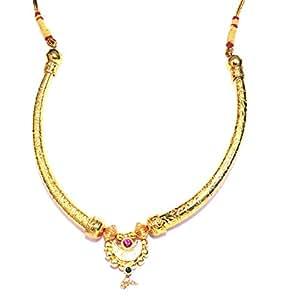 Amazon Com Love Gold Big Girls Gold Plated Hasli Pipe