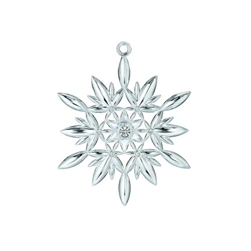 Waterford 2011 Silver Annual Snowflake Ornament