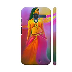 Colorpur Avantika From Bahubali Artwork On Motorola Moto X1 Cover (Designer Mobile Back Case) | Artist: Divakar Vikramjeet Singh