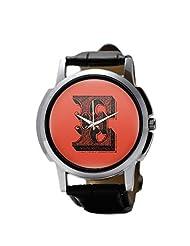 PosterGuy Alphabet E Typography Men's Wrist Watches