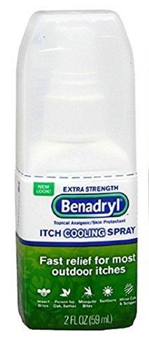 Benadryl Itch Relief Spray, Extra Strength 2 Oz