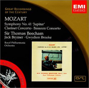 "Mozart: Symphony No. 41 ""Jupiter"" (Great Recordings of the Century)"