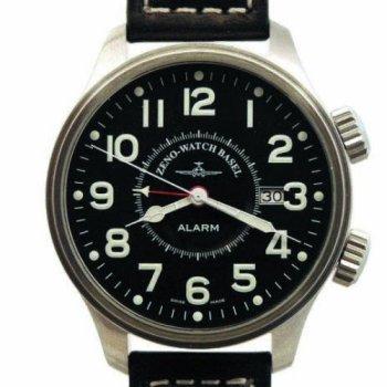 Zeno-Pilot-Oversized-XL-Fliegeruhr-Alarm-Ref-8575-A