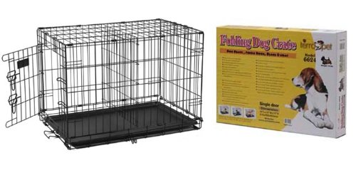 Terra Pet 6642Dd Snughome Single-Door Pet Crate With Satin Black Finish, Dogs 71 To 90 Pounds front-41956