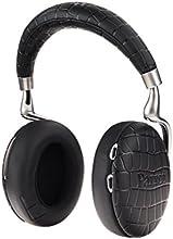 【国内正規品】Parrot Zik 3 密閉型ワイヤレスヘッドホン ノイズキャンセリング Bluetooth NFC Qiワイヤレス充電 Apple Watch対応 Black Crocodile PF562030