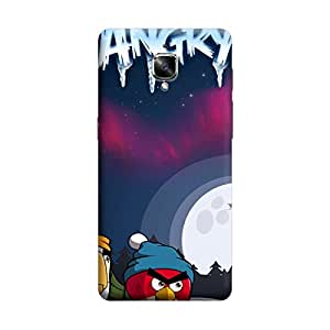iShell Premium Printed Mobile Back Case Cover With Full protection For OnePlus Three (Designer Case)