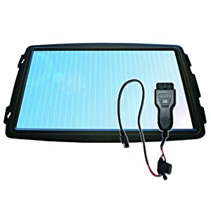 Sunforce (50104) 4W 12V Solar Battery Trickle Charger with OBDII Connector by Sunforce