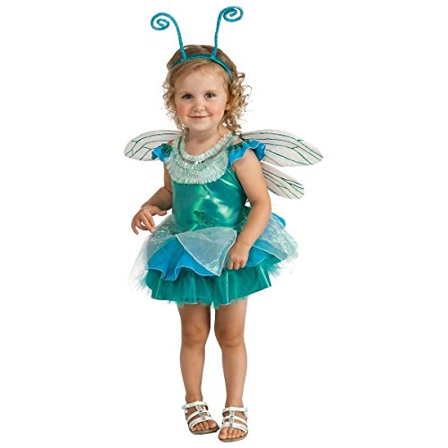 [GSG Dragonfly Toddler Costume Cute Fairy Bug Dressup Halloween Fancy Dress Up] (Dragon Warrior King Adult Mens Costumes)